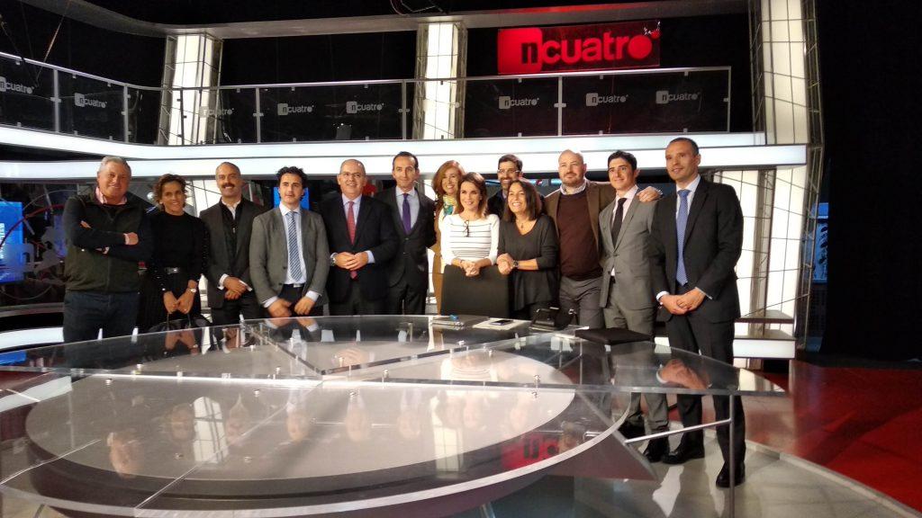 """Visita al """"corazón"""" del grupo audiovisual Mediaset"""